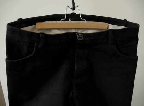 Label Under Construction Woven Inside One Cut Pants Size US 32 / EU 48 - 3
