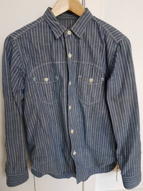 Sunny Sports Striped vented chambray work shirt Size US XS / EU 42 / 0 - 1