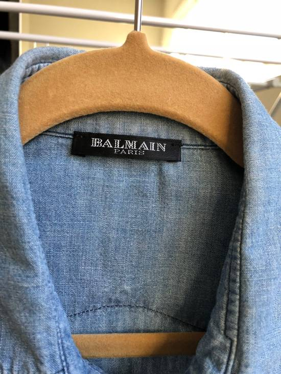 Balmain Balmain Decarnin Era Denim Shirt Size US M / EU 48-50 / 2 - 2
