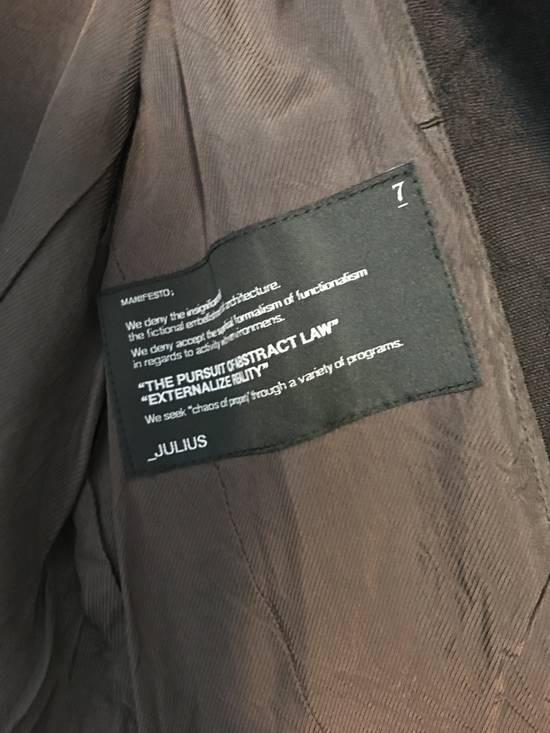 Julius NWT FW13 Moquette Jacquard Size US S / EU 44-46 / 1 - 2