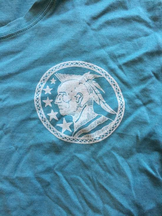 Balmain Light Blue Balmain Tee with White Crest Size US L / EU 52-54 / 3 - 1
