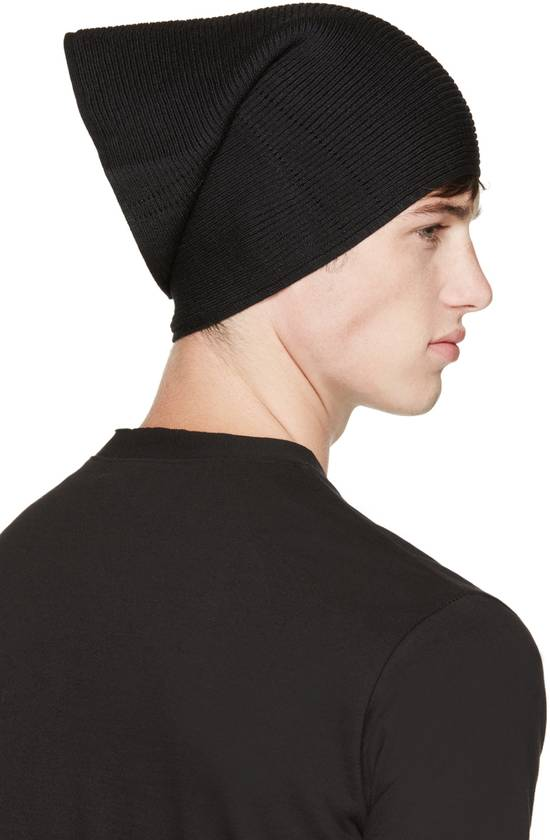 Julius Julius Black Knit Tube Beanie Size ONE SIZE - 5