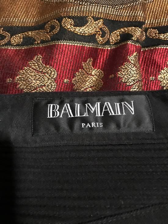 Balmain Black Moleskin Denim Size US 30 / EU 46 - 7