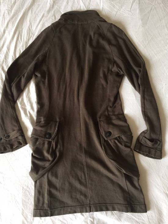 Julius Japan made long jersey oversize Popper fastening Gasmask pocket jacket Size US S / EU 44-46 / 1 - 15