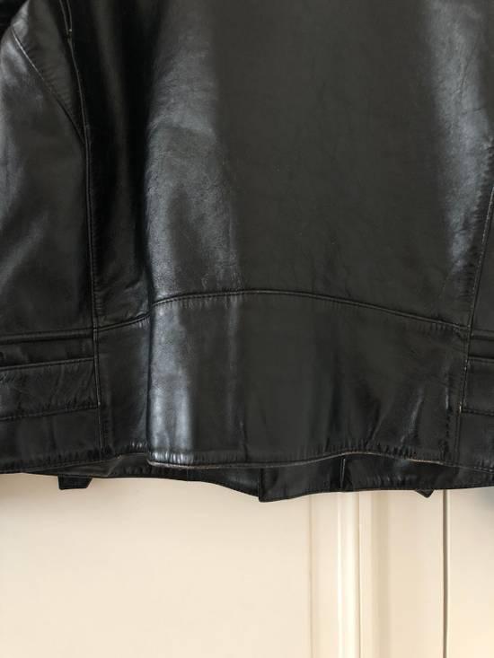 Balmain Black Horse Leather Double Rider Jacket Size US L / EU 52-54 / 3 - 7