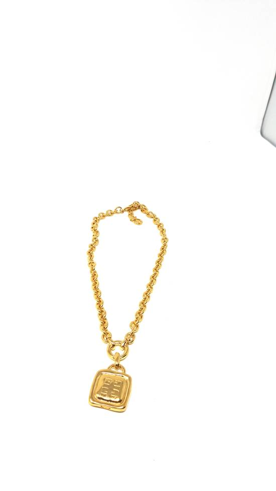 Givenchy Double sided gold plated necklace Size ONE SIZE - 3
