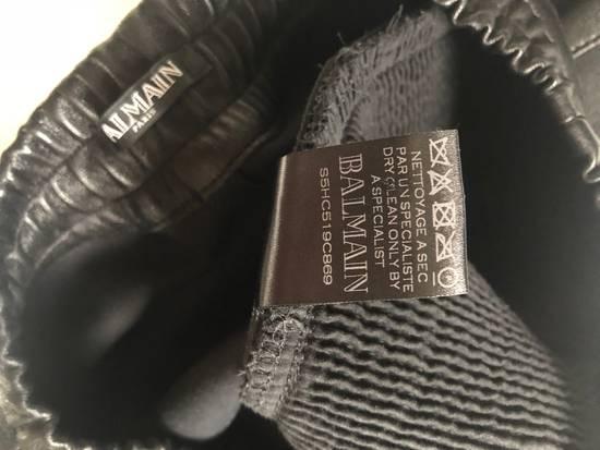 Balmain Leather Sweatpants Size S Size US 30 / EU 46 - 6