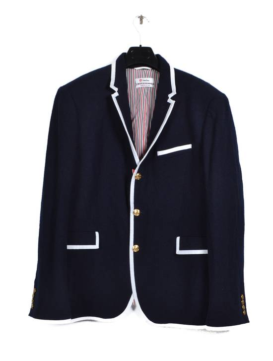Thom Browne dark blue wool blazer Size US XL / EU 56 / 4