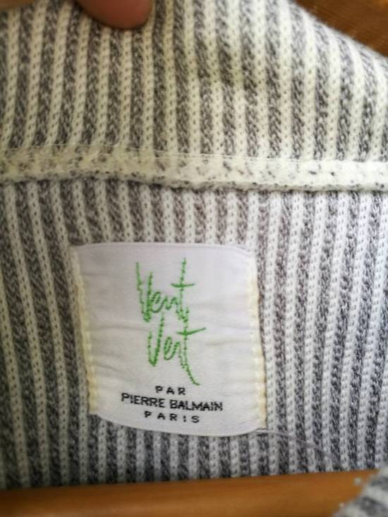 Balmain Full Stripe/ Half Zip/ Tee Pockets Size US L / EU 52-54 / 3 - 3
