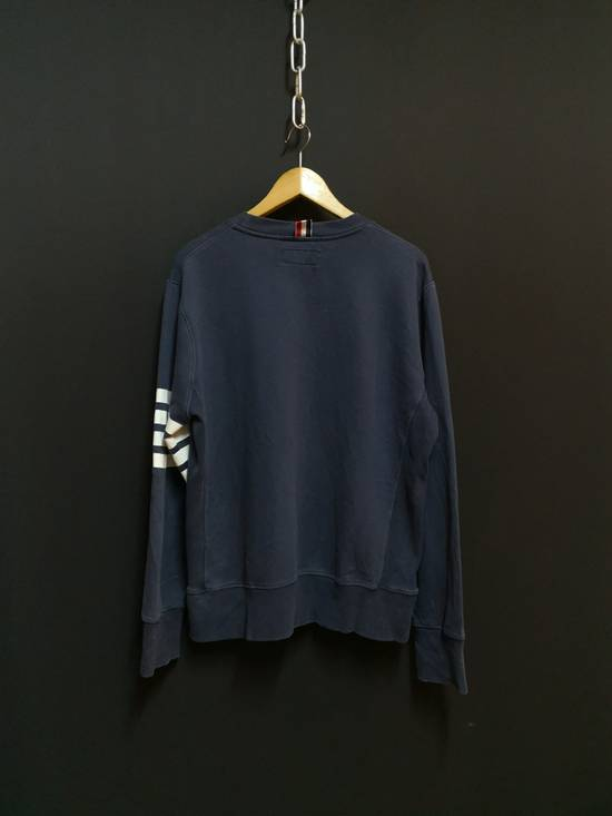 Thom Browne USA classic stripes navy sweatshirt Size US M / EU 48-50 / 2 - 3