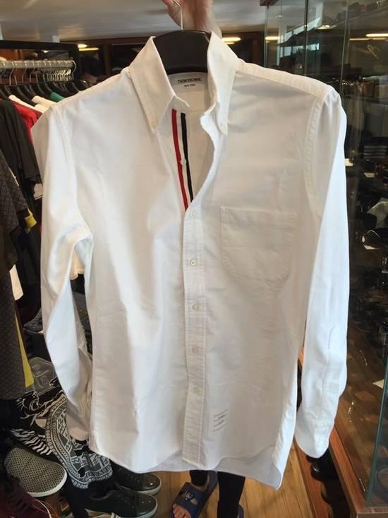 Thom Browne Thom Browne White Oxford Classic Shirt Size US XS / EU 42 / 0 - 2