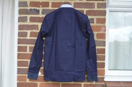 Givenchy Blue Contrast Pocket Shirt Size US S / EU 44-46 / 1 - 7