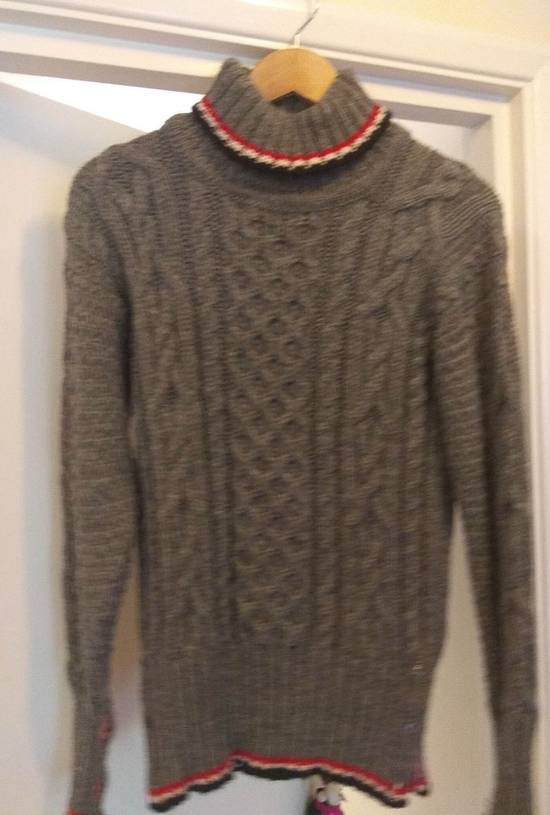 Thom Browne Thom Browne Grey Aran Roll Neck Knit size 3 Size US M / EU 48-50 / 2 - 1