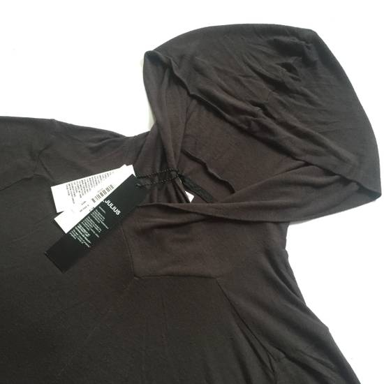 Julius Prism Viscose Asymmetrical Hoodie NWT Size US M / EU 48-50 / 2 - 1