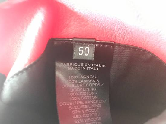 Balmain Nappa Leather Biker Jacket Size US M / EU 48-50 / 2 - 11