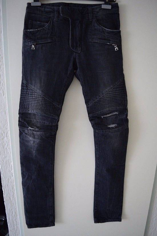 Balmain Balmain Authentic $990 Biker Jeans Size 27 Slim Fit Brand New With Tags Size US 27
