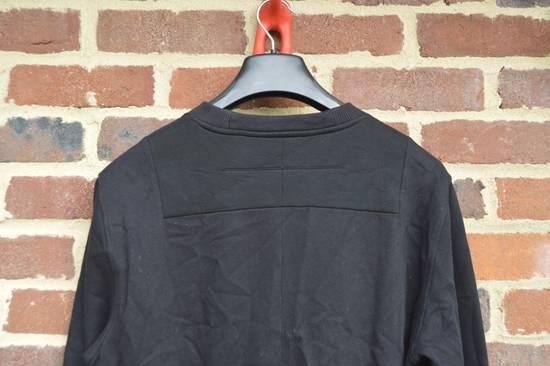 Givenchy Black Bonded Cotton Detail Sweater Size US M / EU 48-50 / 2 - 5