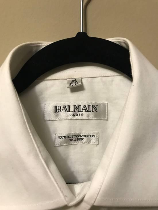 Balmain White Button Up Size US L / EU 52-54 / 3 - 1