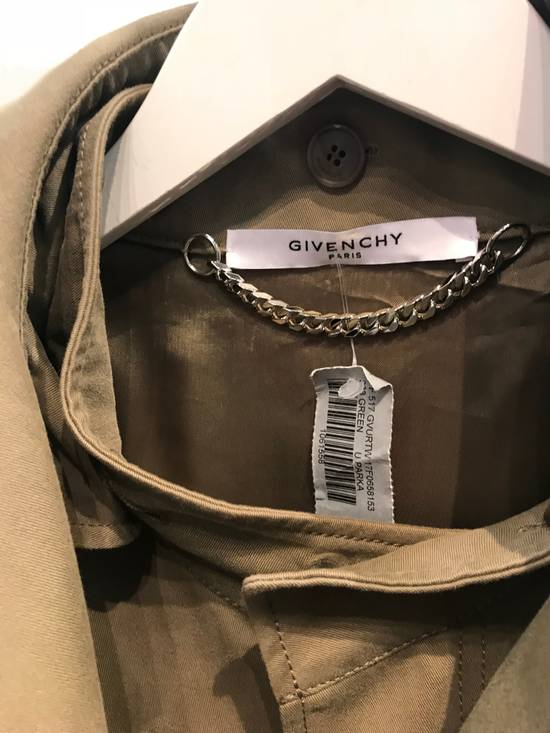 "Givenchy ""Real Lies"" Khaki Embroidered Parka Size US M / EU 48-50 / 2 - 2"
