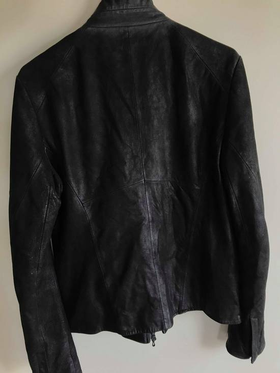 Julius julius_7 patchwork nubuck lambskin leather jacket Size US S / EU 44-46 / 1 - 9