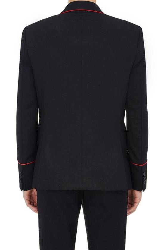 Givenchy Wool Mohair Contrast Piping Suit Size 42R - 2