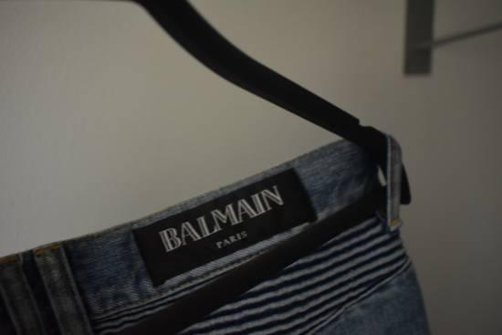 Balmain Balmain Biker Denim Jeans Size 33 Size US 33 - 12