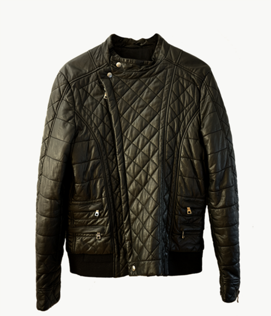 Balmain Balmain 2014 Quilted Black Jacket Size US L / EU 52-54 / 3