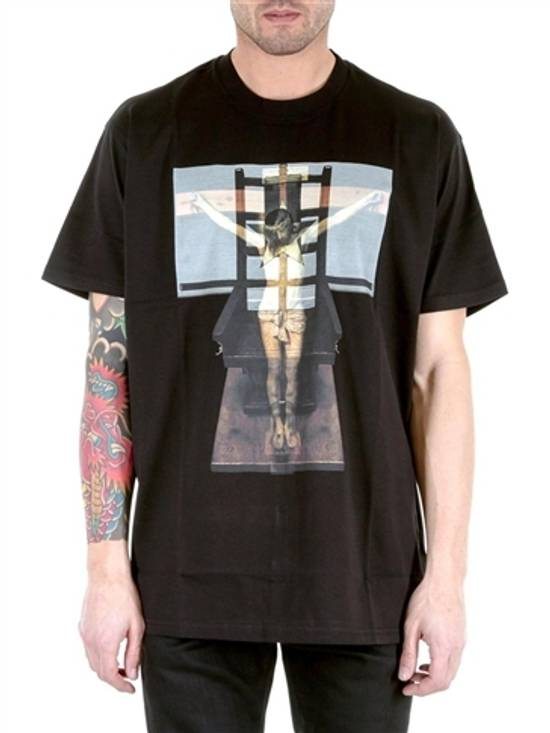 Givenchy Jesus Cross Print T-shirt Size US M / EU 48-50 / 2 - 1