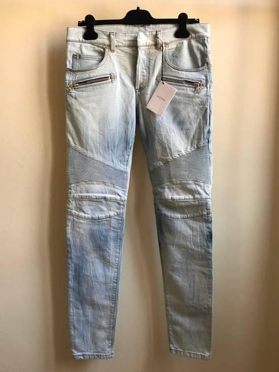 Balmain Biker Jeans SS18 Size US 32 / EU 48