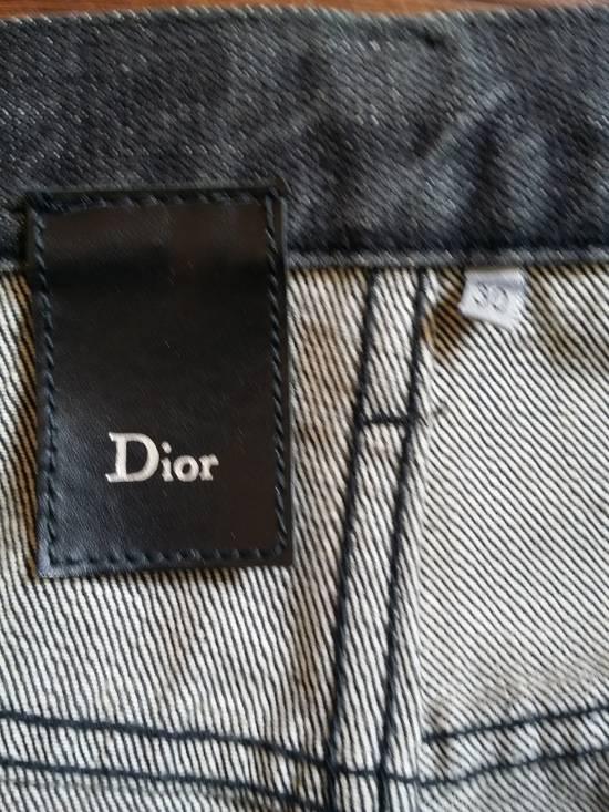 Dior Dior Waxed Black Jeans Slimane Size US 30 / EU 46 - 1
