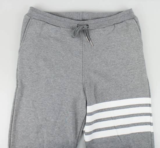 Thom Browne New Thom Browne Gray Cotton Sweat Pants Size US 36 / EU 52 - 1