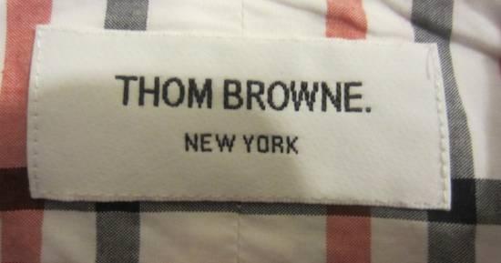 Thom Browne Classic Large Check Plaid Oxford Shirt Size US L / EU 52-54 / 3 - 3
