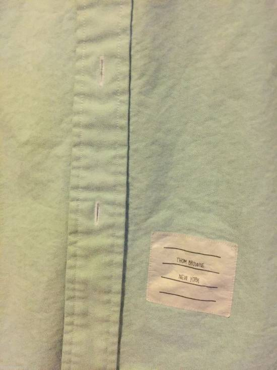 Thom Browne mint shirt Size US XS / EU 42 / 0 - 1
