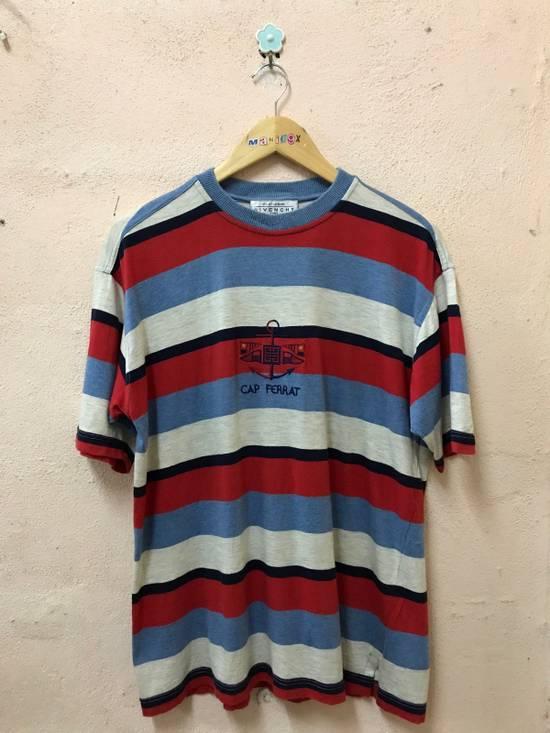 Givenchy Cap Ferrat Stripe Tshirt Embroidered Logo Size US M / EU 48-50 / 2
