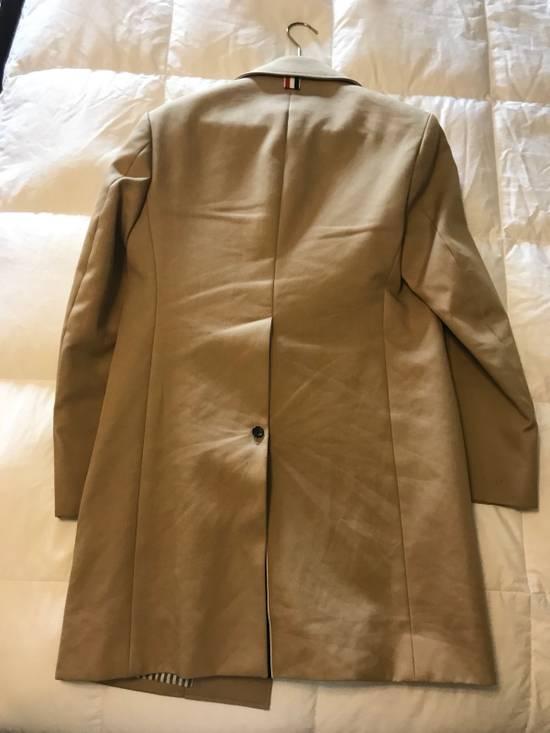 Thom Browne Thom Browne Tan Macintosh Overcoat - Size 00 Size US XXS / EU 40 - 3