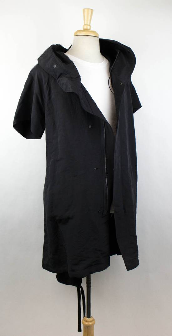 Julius Men's Black Linen Blend Fishtail Parka Coat Size 2/S Size US S / EU 44-46 / 1 - 2