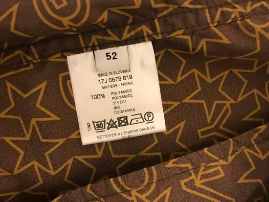 Givenchy Brown Star & Logo Contrast Zipper Size US L / EU 52-54 / 3 - 7