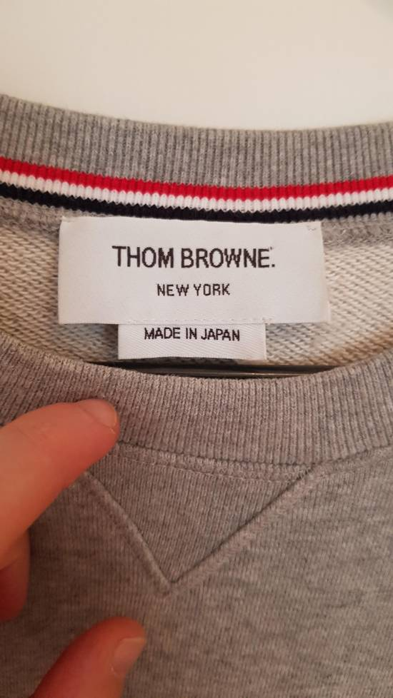 Thom Browne cosgrain loopback cotton sweater Size US M / EU 48-50 / 2 - 6