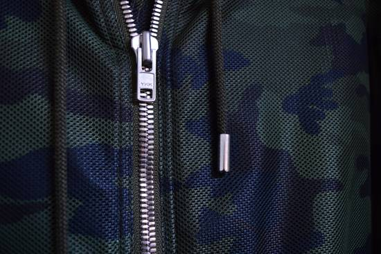 Givenchy Givenchy camo perforated zip-up hooded jacket Size US S / EU 44-46 / 1 - 3