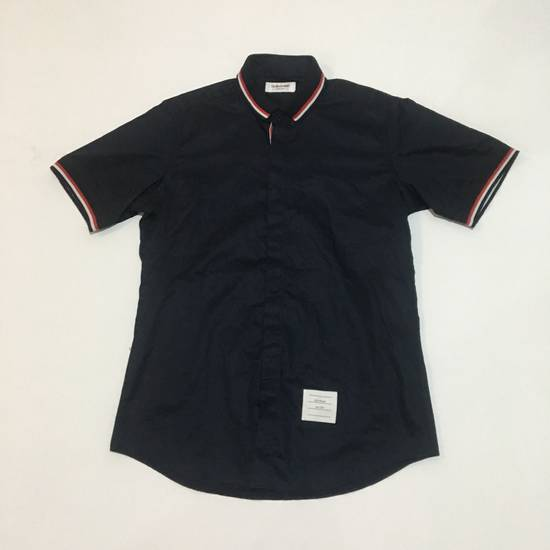 Thom Browne Thom Browne Blue Short Sleeve Shirt not gucci chanel fendi balenciaga louis vuitton Size US M / EU 48-50 / 2