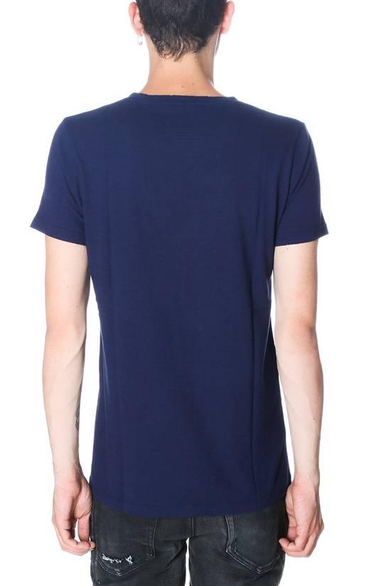 Balmain $650 Balmain Mens Medium (3)Three Pack Wool Teeshirts Blue/ Green/ Gray Italy Size US M / EU 48-50 / 2 - 6