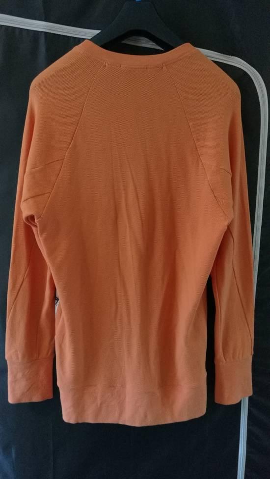 Julius BNWT 2018SS Limited Oversize Mesh Graphic Print Sweater Orange Size US S / EU 44-46 / 1 - 3