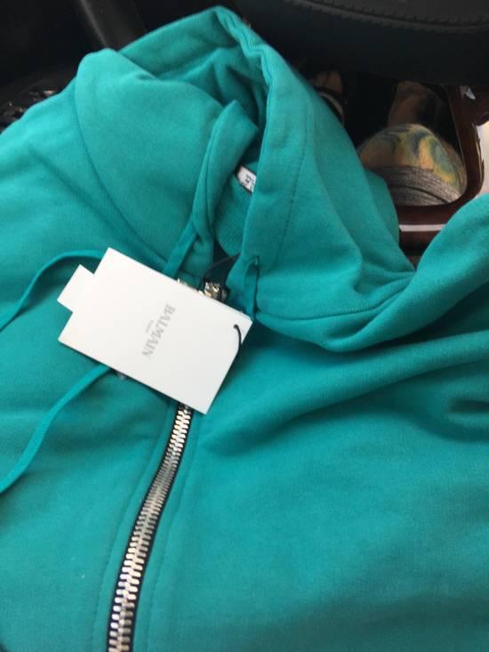 Balmain Custom patch hoody Size US XL / EU 56 / 4 - 1
