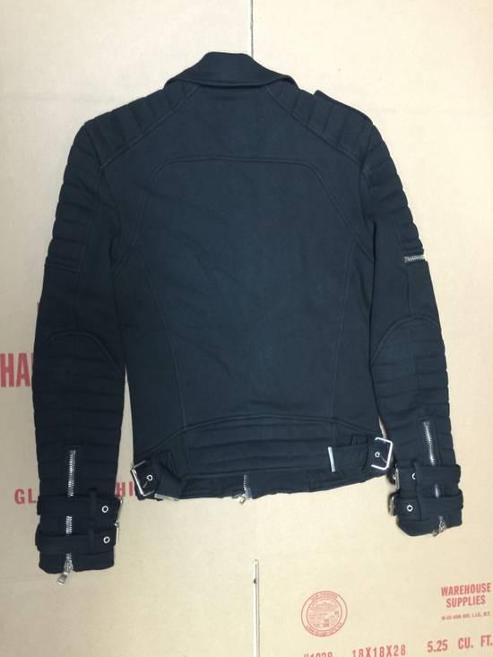 Balmain Balmain Cotton Biker Jacket Size US XS / EU 42 / 0 - 2
