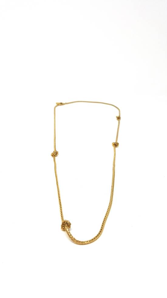 Givenchy Gold plated barbed wire necklace Size ONE SIZE