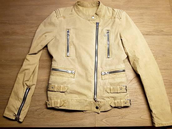 Balmain Ripstop Biker Jacket Size US S / EU 44-46 / 1 - 2