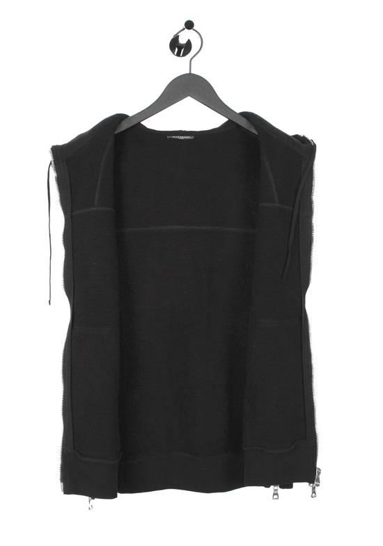 Balmain Original Balmain Hooded Black Men Sleeveless Sweatshirt Top Vest in size M Size US M / EU 48-50 / 2 - 5
