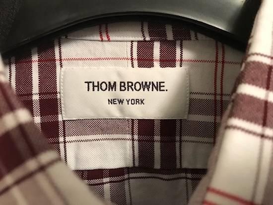 Thom Browne Plaid Oxford Cloth Shirt with Grosgrain Tab NEW Size US S / EU 44-46 / 1 - 8