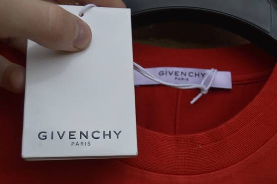 Givenchy Red Destroyed Rottweiler T-shirt Size US L / EU 52-54 / 3 - 3