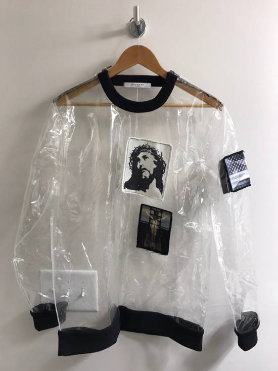 Givenchy Givenchy Men's Runway Crucifixion Clear Sweatshirt Size M SS2016 (AUTHENTIC) Size US M / EU 48-50 / 2